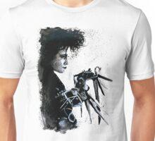 Scissorhands Splatter Unisex T-Shirt
