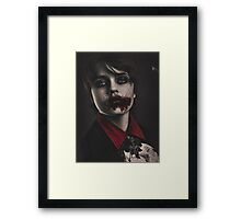 little Vampire Framed Print