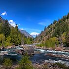 Wenatchee River by Brad Granger