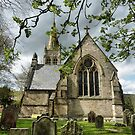 St Augustines church Alston . by Lilian Marshall