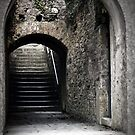 Steps at Charles Fort by Marloag