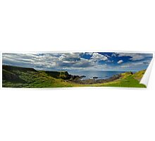 On the way to Giants Causeway Poster