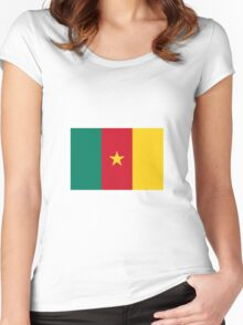 Cameroon - Standard Women's Fitted Scoop T-Shirt