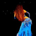 Bellydance in Blue, International Bellydance Congress, UK by Anne Kingston