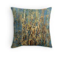 Gothic church Throw Pillow