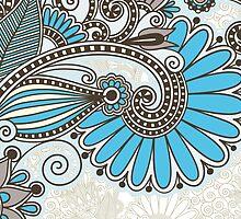 Spiral Flora by Sol Noir Studios