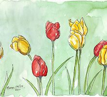If I was a Tulip by Maree  Clarkson