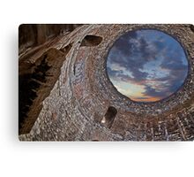Ruins of the palace of the Emperor Diocletian Canvas Print