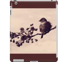 Flowered Finch iPad Case/Skin
