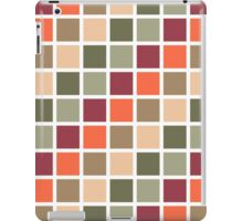 Retro Squares Pattern iPad Case/Skin