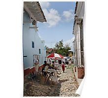 Market at Trinidad, Cuba Poster
