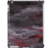 Sea of Blood, Leaden Sky iPad Case/Skin