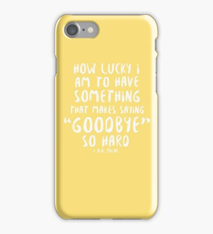 i miss you iPhone Case/Skin