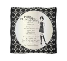 Gatsby Girl Recipe To Be A 1920s Flapper Girl (in black silver & pearl) Scarf