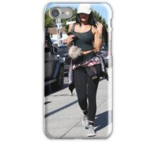 Kylie Jenner Walking in LA iPhone Case/Skin