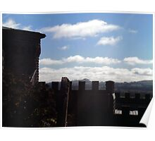 Kryal Castle - Ballarat (Views over the front wall) Poster