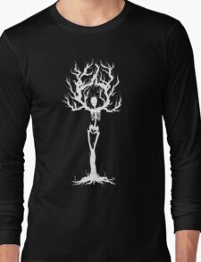 Tree of Death (White T-shirt Vers.) Long Sleeve T-Shirt