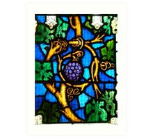 """I am the vine, you are the branches"" ~ Holy Trinity Anglican Church, Dubbo Art Print"