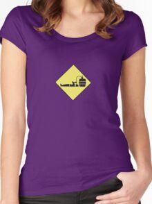 beer guy Women's Fitted Scoop T-Shirt