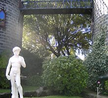 Kryal Castle - Ballarat (David statue) by adgray