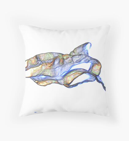 Abstract from Sculpture I Throw Pillow