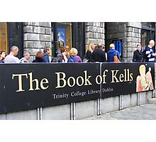 THE BOOK OF KELLS Photographic Print