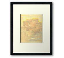 Dell Abode (acrylic) Framed Print