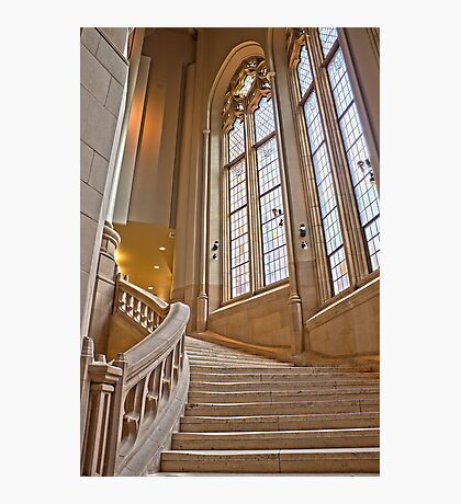 The Grand Staircase in the Suzzallo Library Photographic Print