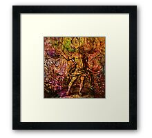 Alchemical Fire - In The Belly Of The Wind Framed Print