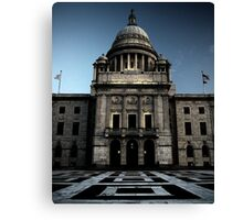 State House Canvas Print