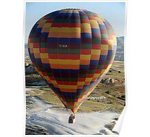 Ballooning in Cappadocia Poster
