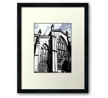 Gothic Castle Framed Print
