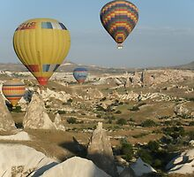 Ballooning in Turkey by Lyn Fabian