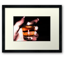 Time to Kill the Pain Framed Print