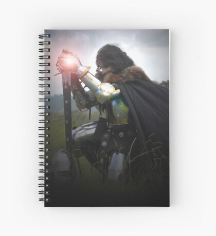 LADY KNIGHT Spiral Notebook