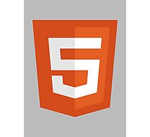 HTML 5 – Silicon Valley Photographic Print
