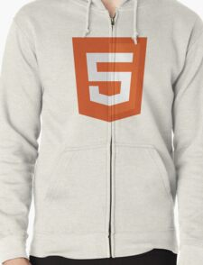 HTML 5 – Silicon Valley Zipped Hoodie