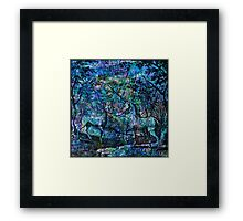 """Alchemical Secrets - """"The Stag And The Unicorn"""" Framed Print"""