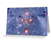 Cold Storm Greeting Card