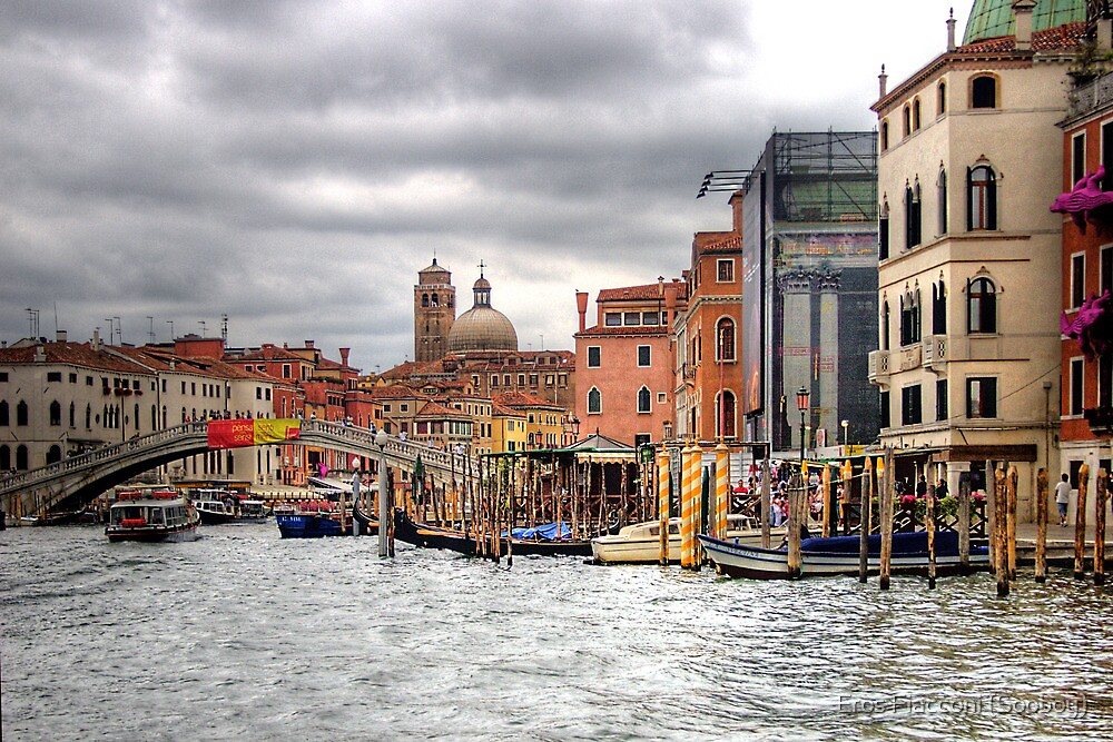 Along the Grand Canal Venice Italy by Eros Fiacconi (Sooboy)
