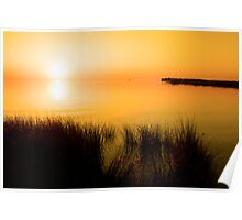 Pamlico Sunset Poster
