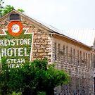 Old Keystone Hotel by Sandra Moore