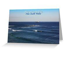 Nobbys Reef Greeting Card