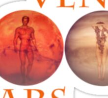 Mars and Venus'... Sticker