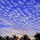 Sunrise & Mackerel sky, Thailand by jomtien