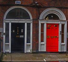 BLACK/RED DOOR by gracestout2007