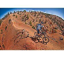 Thunder Mountain, Utah Photographic Print
