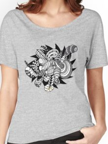 Tribal Abstract Women's Relaxed Fit T-Shirt