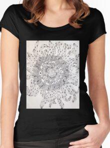 sunflower power Women's Fitted Scoop T-Shirt