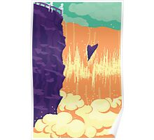 At the  waterfall Poster
